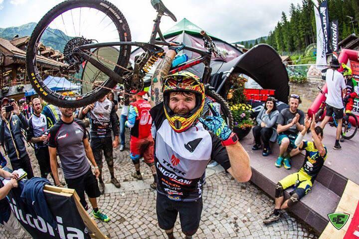 Superenduro Canazei, Alex Lupato Team Cingolani Trek.