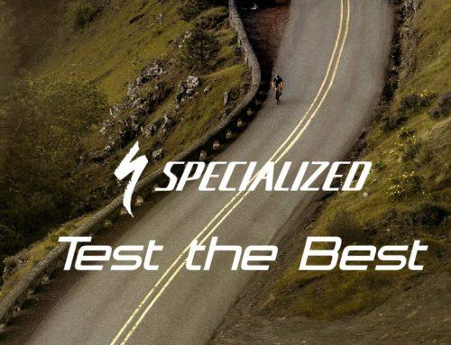 Sabato 7 e domenica 8 Ottobre Test bike Specialized