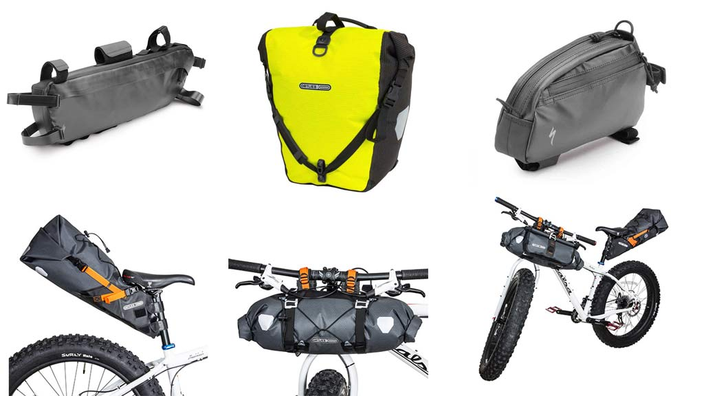 Borse per bici: BRN, Ortlieb, Specialized